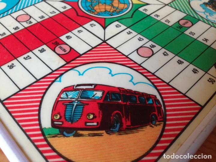 Juegos de mesa: Tablero Parchís y juego de la Oca antiguo - Foto 9 - 77797373