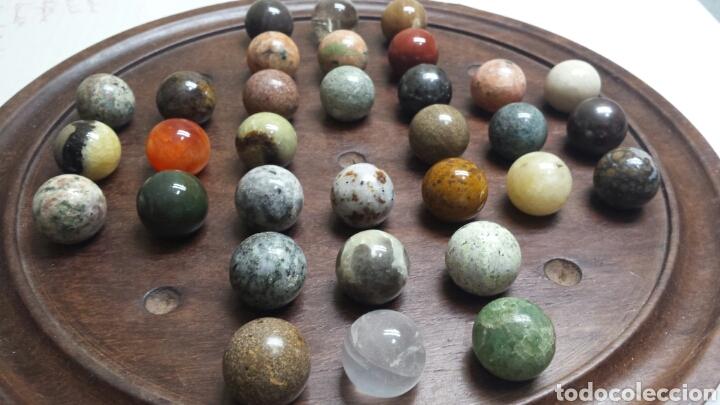 varios estilos diseño novedoso mejor Bonito Damas chinas con tabla madera maciza y bolas de distintos  minerales-gemas