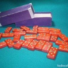 Juegos de mesa: DOMINO DE MADERA. Lote 78100441
