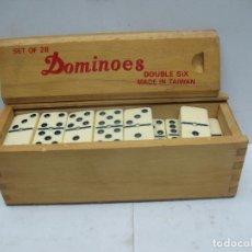 Juegos de mesa: ANTIGUAS PIEZAS DE DOMINO JUEGO DE MESA. Lote 78128585