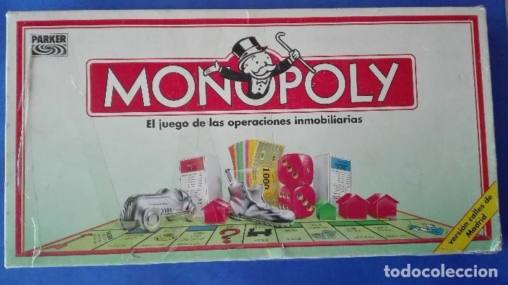 MONOPOLY. - PARKER. - C(1992). (Juguetes - Juegos - Juegos de Mesa)