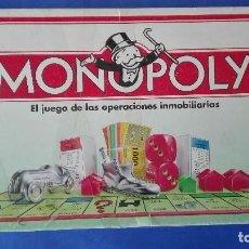Juegos de mesa: MONOPOLY. - PARKER. - C(1992).. Lote 78192373