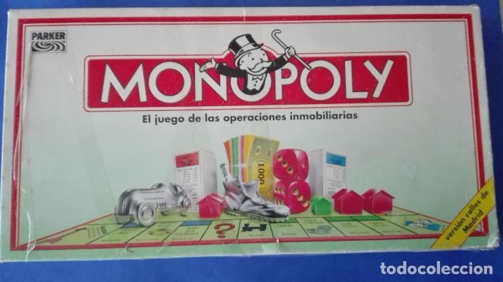 Juegos de mesa: MONOPOLY. - PARKER. - C(1992). - Foto 2 - 78192373