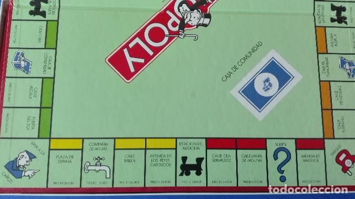 Juegos de mesa: MONOPOLY. - PARKER. - C(1992). - Foto 6 - 78192373