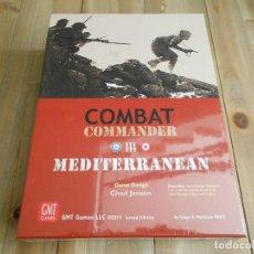 Juegos de mesa: JUEGO WARGAME - COMBAT COMMANDER MEDITERRANEAN - SECOND PRINTING - GMT - PRECINTADO - WWII. Lote 78290605