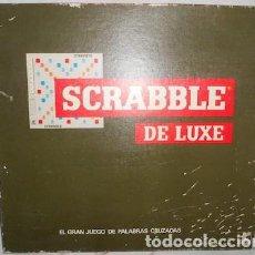 Juegos de mesa: SCRABBLE DE LUXE, EL GRAN JUEGO DE PALABRAS CRUZADAS, DE BORRÁS. Lote 78410641