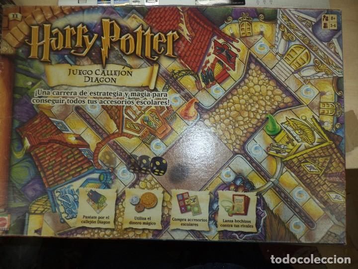 Harry Potter Juego Callejon Dragon Mattel Comprar Juegos De Mesa
