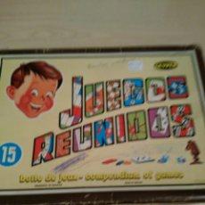 Juegos de mesa: JUEGOS REUNIDOS GEYPER. Lote 78940927