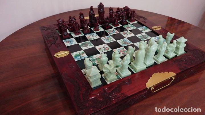 Ajedrez Oriental Antiguo Comprar Juegos De Mesa Antiguos En
