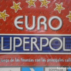 Juegos de mesa: JUEGO DE MESA EURO SUPERPOLY JUEGODEMESA-22. Lote 110534466