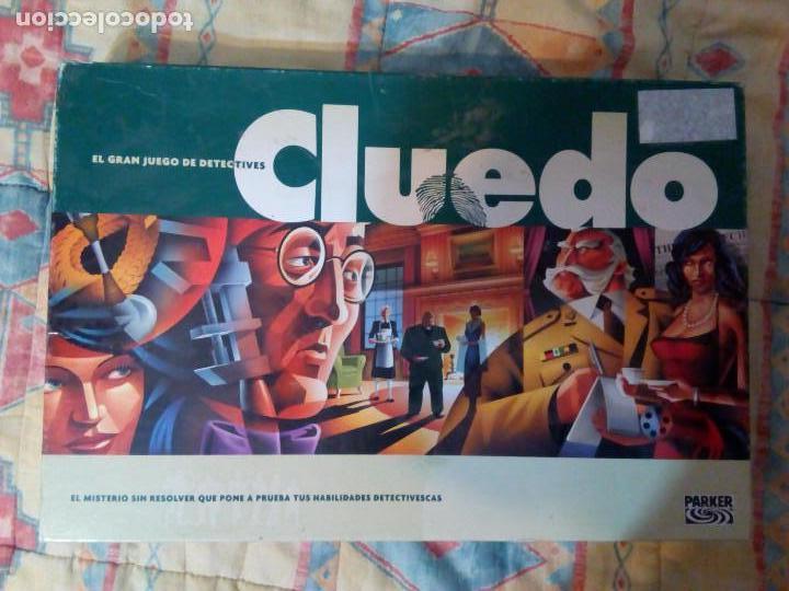 CLUEDO, JUEGO DE MESA (Juguetes - Juegos - Juegos de Mesa)