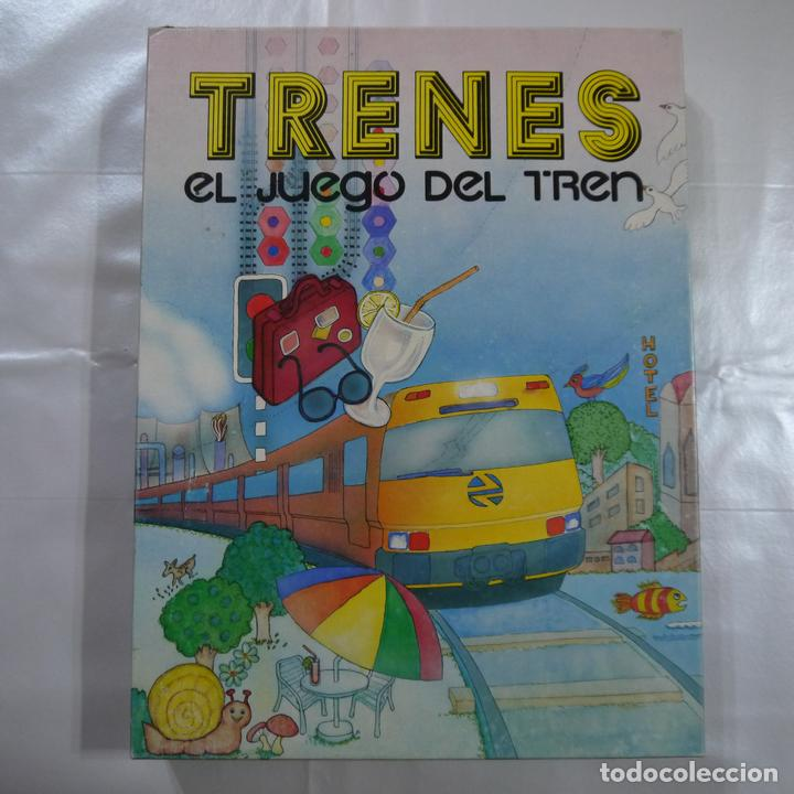 trenes el juego del tren  renfe  1989  Comprar Juegos de mesa
