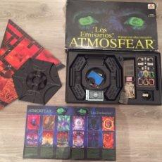 Juegos de mesa: JUEGO DE MESA ATMOSFEAR LOS EMISARIOS CON VIDEO VHS INTERACTIVO. Lote 95966060