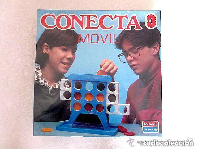 CONECTA 3 MOVIL DE FALOMIR JUEGOS PRECINTADO NUEVO SIN ABRIR (Juguetes - Juegos - Juegos de Mesa)