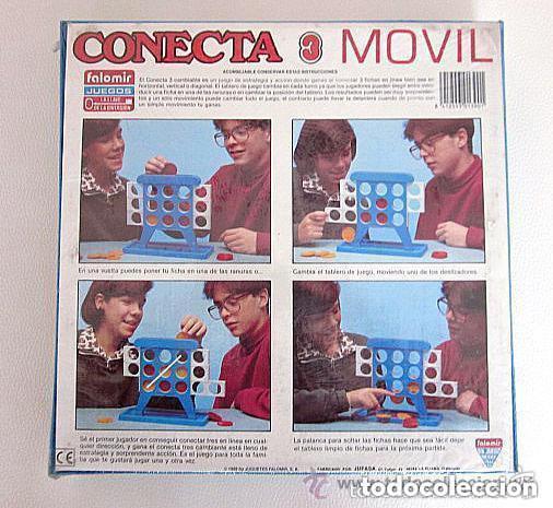 Juegos de mesa: Conecta 3 Movil de Falomir Juegos Precintado Nuevo sin abrir - Foto 2 - 79858093