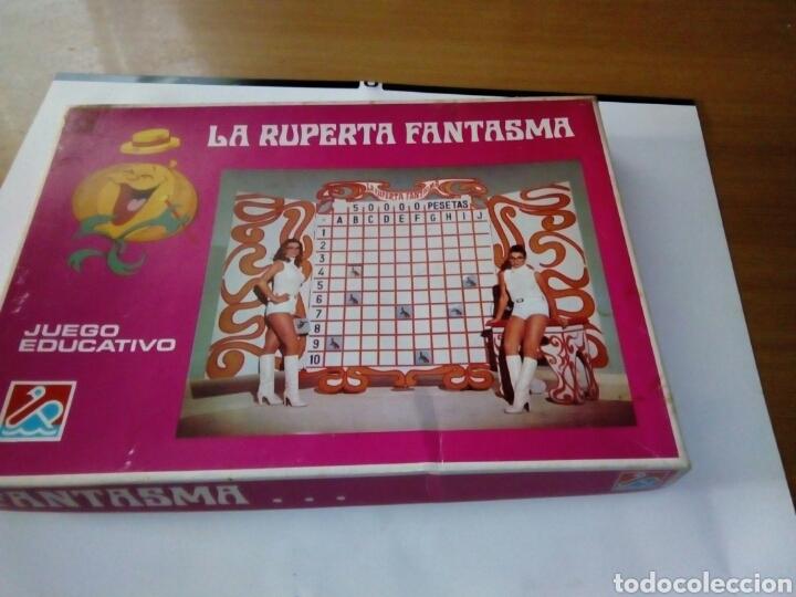 JUEGO LA RUPERTA FANTASMA UN, DOS, TRES (Juguetes - Juegos - Juegos de Mesa)