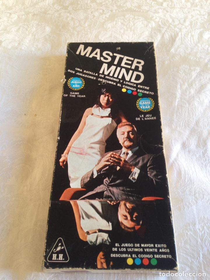 JUEGO DE MESA MASTER MIND AÑOS 70 (Juguetes - Juegos - Juegos de Mesa)