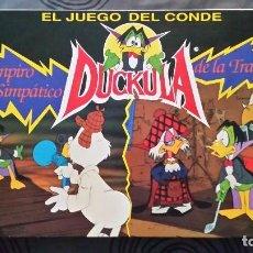 Juegos de mesa: EL JUEGO DEL CONDE DUCKULA FALOMIR JUEGOS 1990. Lote 80642530