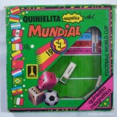 Juegos de mesa: QUINIELITA MAGNÉTICA DEL MUNDIAL 1982 - RIMA. Lote 80671722