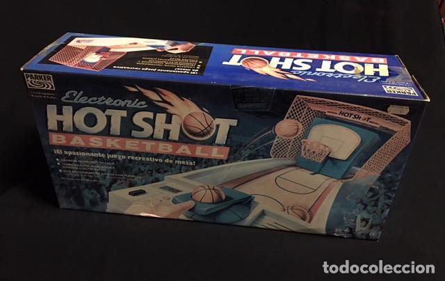 Juego De Baloncesto Electronic Hot Shot Basketb Comprar Juegos De
