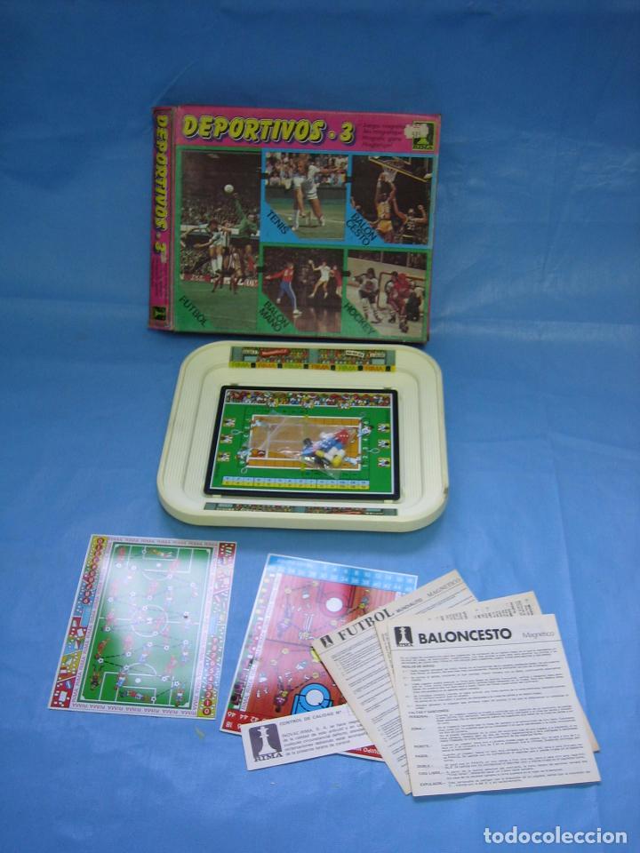 Juego Magnetico De Deportes De Rima Anos 80 O Comprar Juegos De