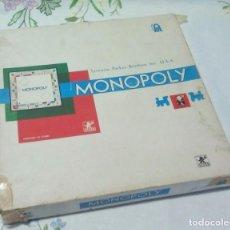 Juegos de mesa: ANTIGUO MONOPOLY CALLES DE BARCELONA. Lote 81078836