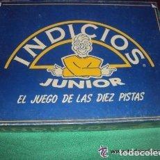 Juegos de mesa: INDICIOS JUNIOR DE PUBLIJUEGOS- EL JUEGOS DE LAS 10 PISTAS. Lote 81200508