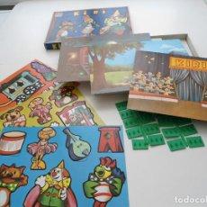 Juegos de mesa: KIRI - 3 ESCENAS ANIMADAS - DALMAU CARLES PLA - JUEGO DE MESA COMPLETO Y A ESTRENAR - AÑOS 80. Lote 81266124