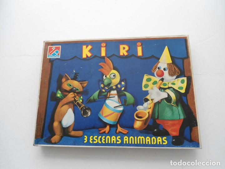 Juegos de mesa: KIRI - 3 ESCENAS ANIMADAS - DALMAU CARLES PLA - JUEGO DE MESA COMPLETO Y A ESTRENAR - AÑOS 80 - Foto 2 - 81266124