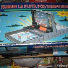Juegos de mesa: HUNDIR LA FLOTA POR COMPUTADOR, DE MB JUEGOS. Lote 81820504