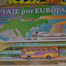 Juegos de mesa: VIAJE POR EUROPA . Lote 82052980