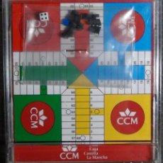 Juegos de mesa: JUEGO MAGNÉTICO PUBLICIDAD CAJA CASTILLA LA MANCHA - PARCHIS. Lote 82205672