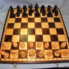 Juegos de mesa: AJEDREZ PLEGABLE DE MADERA. Lote 82318352
