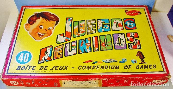 Juegos Reunidos Geyper 40 Juegos Anos 60 Bue Comprar Juegos De