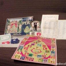 Juegos de mesa: LA PERA - JUEGO DEL CONCURSO UN, DOS, TRES DE TVE -AÑOS 70-ED. CARLES DALMAU-PREGUNTAS Y RESPUESTAS . Lote 82899164