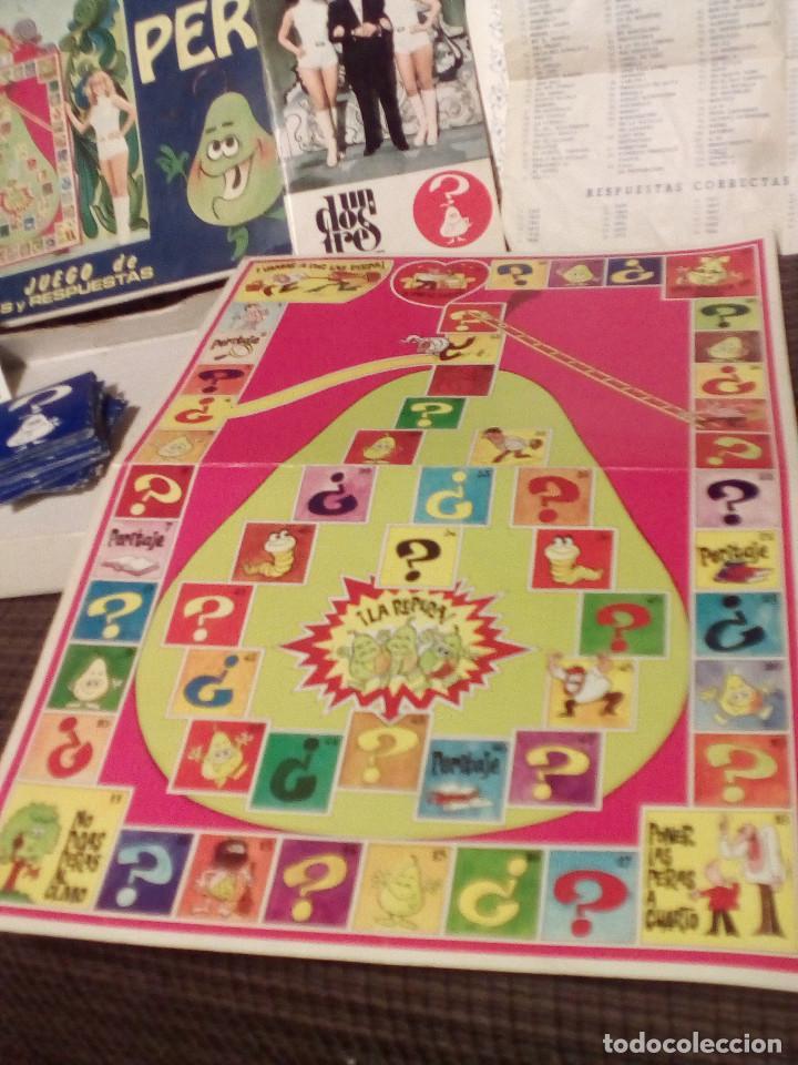 Juegos de mesa: LA PERA - JUEGO DEL CONCURSO UN, DOS, TRES DE TVE -AÑOS 70-Ed. Carles Dalmau-Preguntas y Respuestas - Foto 2 - 82899164