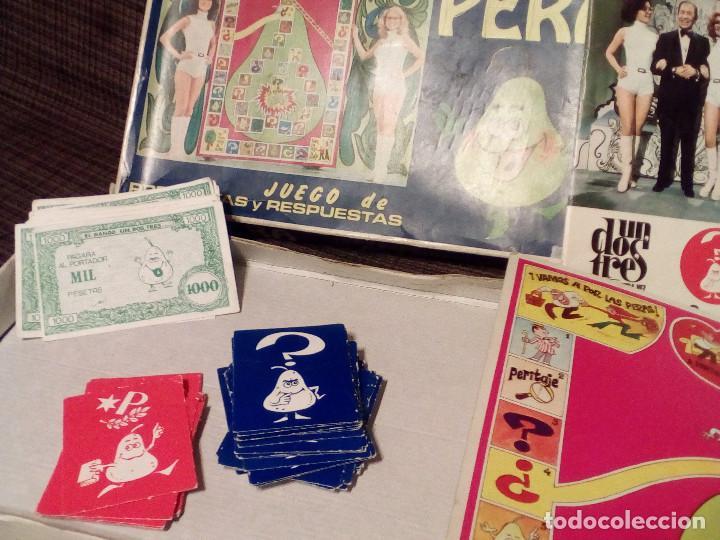 Juegos de mesa: LA PERA - JUEGO DEL CONCURSO UN, DOS, TRES DE TVE -AÑOS 70-Ed. Carles Dalmau-Preguntas y Respuestas - Foto 4 - 82899164