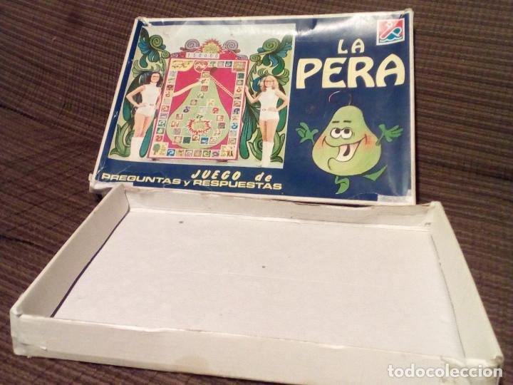 Juegos de mesa: LA PERA - JUEGO DEL CONCURSO UN, DOS, TRES DE TVE -AÑOS 70-Ed. Carles Dalmau-Preguntas y Respuestas - Foto 6 - 82899164