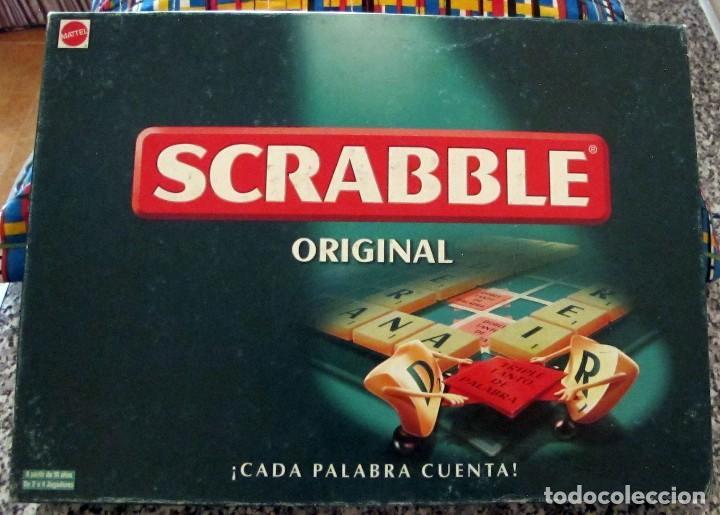 Juego De Mesa Scrabble Mattel Bastante Nuevo Comprar Juegos De