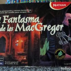 Juegos de mesa: JUEGO DE MESA EL FANTASMA DE LOS MC GREGOR. Lote 82950388