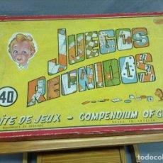 Juegos de mesa: JUEGOS REUNIDOS GEYPER 40. Lote 83023176