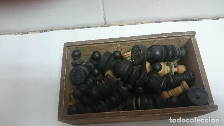 Juegos de mesa: JUEGO PIEZAS DE AJEDREZ DE MADERA - Foto 6 - 164283901