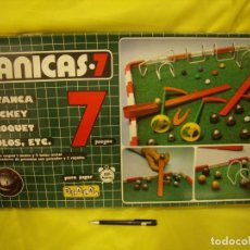 Jeux de table: JUEGO CANICAS 7 DE SCALA, AÑOS 90, NUEVO SIN USAR.. Lote 191784152