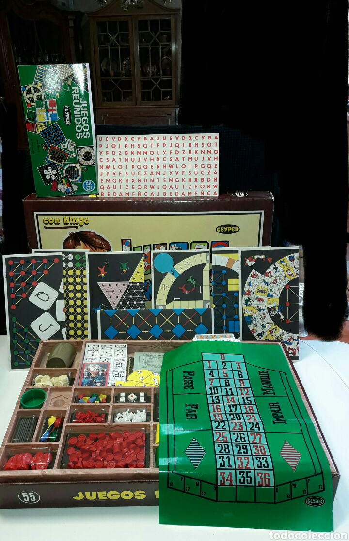 Juegos Reunidos Geyper Nº 55 Anos 80 Completo Y Comprar Juegos De