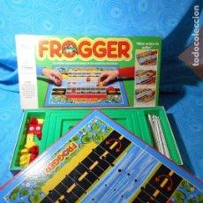 Juegos de mesa: FROGGER, MIRAR ANTES DE SALTAR JUEGO DE MESA AÑO 1984 DE MB JUEGOS COMPLETO REF (1). Lote 83989568