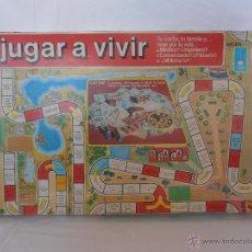 Juegos de mesa: JUEGO DE MESA JUGAR A VIVIR, SCALA, COMPLETO Y EN BUEN ESTADO. Lote 84290476