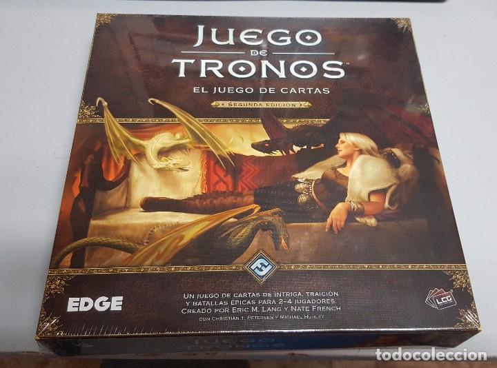 Juego De Tronos El Juego De Cartas 2ª Edicion Comprar Juegos De