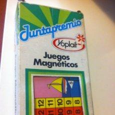 Juegos de mesa: JUEGOS MAGNETICOS YOPLAIT JUNTAPRENIO REGATAS. Lote 85279771