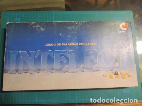 JUEGO INTELECT DE CEFA AÑOS 80 (Juguetes - Juegos - Juegos de Mesa)
