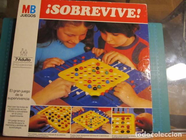 JUEGO SOBREVIVE AÑOS 80 DE MB (Juguetes - Juegos - Juegos de Mesa)